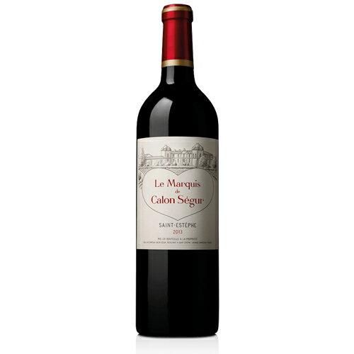 ル・マルキ・ド・カロン・セギュール [2013] 750ml ※12本まで1個口で配送が可能ですフランス ボルドー 赤ワイン マルキ ド カロン セギュール[S..3804..SE]