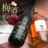 【2本セット送料無料】こだわりの梅酒2本ギフトセット※北海道・九州・沖縄県は送料無料対象外です。※その他の商品と同梱出来ません梅酒セット父の日母の日[T.3355.0.SE]