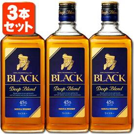 【3本セット送料無料】ブラックニッカ ディープブレンド 45度 700ml×3本※北海道・九州・沖縄県は送料無料対象外です。※12本まで1個口配送が可能です ウイスキー ジャパニーズウイスキー 国産ウイスキー Black Nikka Deep Blend [T.001.2268.1.SE]