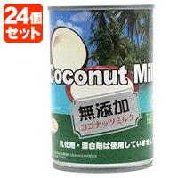 【1ケース(24缶)送料無料】インターフレッシュ 無添加 ココナッツミルク400ml×24缶[1ケース] <缶詰食品><調味料>※2ケースまで同梱出来ます※北海道・九州・沖縄県は送料無料対象外です。[1803YI][SE]