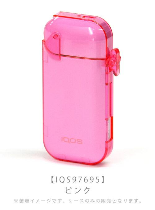 iQOSロックハードケーススリムVer.ピンク