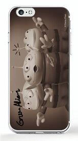 ディズニースマホケース(クリア) スターオブ トイ・ストーリー シリーズ 【エイリアン】選べる機種(iPhone6,6s,6 plus/5C,5/5s/SE(第一世代),4/4s,GALAXY S5/S4,XperiaA)Disney/スマホカバー