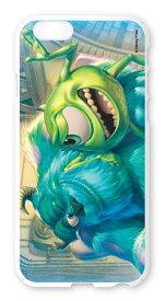 ディズニースマホケース(ホワイト)【マイク&サリー】選べる機種(iPhone6,6s,6 plus/5C,5/5s/SE(第一世代),4/4s,GALAXY S5/S4,XperiaA)Disney/スマホカバー