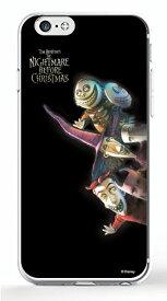 ディズニースマホケース(クリア) ナイトメアー・ビフォア・クリスマス【ロック、ショック、バレル】選べる機種(iPhone6,6s,6 plus/5C,5/5s/SE(第一世代),4/4s,GALAXY S5/S4,XperiaA)Disney/スマホカバー