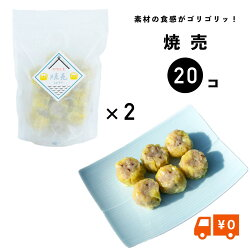 【送料無料】かわしも焼売(シュウマイ)2パックセット(冷凍、10ヶ×2)しゅうまい焼売餃子手作り冷凍餃子焼売肉汁皮から手作り長崎もちもち餃子のかわしも