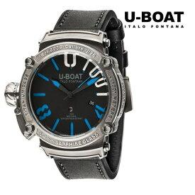 U-BOAT ユーボート 8038 メカニカル 自動巻き メンズ 腕時計 ウォッチ 時計 グレー色 カーフストラップ 正規輸入品 メーカー保証付 誕生日プレゼント 男性 ギフト ブランド かっこいい もてる 送料無料