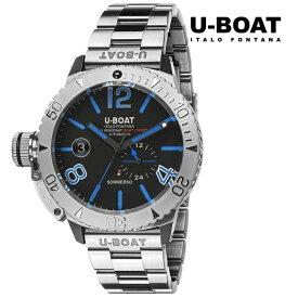 U-BOAT ユーボート 9014M メカニカル 自動巻き メンズ 腕時計 ウォッチ 時計 シルバー色 金属ベルト 正規輸入品 メーカー保証付 誕生日プレゼント 男性 ギフト ブランド かっこいい もてる 送料無料