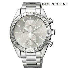 CITIZEN シチズン INDEPENDENT インディペンデント BA7-115-91 電池式クオーツ メンズ 腕時計 ウォッチ 時計 シルバー色 金属ベルト 国内正規品 メーカー保証付 誕生日プレゼント 男性 ギフト ブランド かっこいい もてる 送料無料