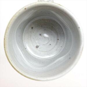 マグカップ白マット 川端滝三郎商店