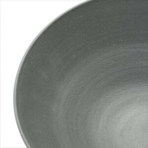 常滑焼チャラ掛け碗20cm黒ブラック器お皿陶器食器おしゃれ和食器プレゼントギフト結婚祝い