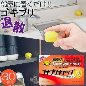 ゴキブリキャップP1(30個入) ゴキブリ 防虫 置くだけ タニサケ 玉ねぎ ホウ酸 国産 日本製