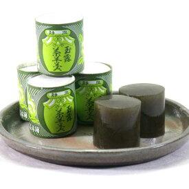 お茶ようかん 5ケ入 玉露茶羊羹は 静岡の名物