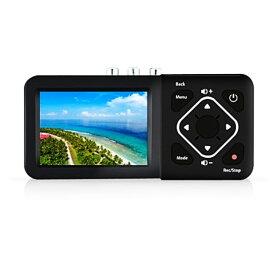 簡単ビデオダビング 液晶搭載ビデオレコーダー TEC テック コンポジット/S-Video出力映像をデジタル保存 HDMI出力機能 TADREC-S ◆宅