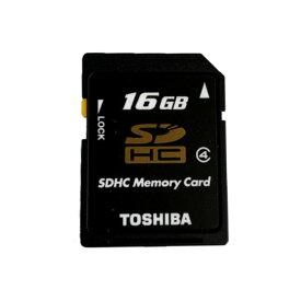 16GB SDHCカード SDカード TOSHIBA 東芝 CLASS4 ミニケース入 バルク SD-L016G4-BLK ◆メ