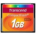 ◇ 【1GB】 Transcend/トランセンド コンパクトフラッシュ 133倍速 永久保証 TS1GCF133 ◆メ