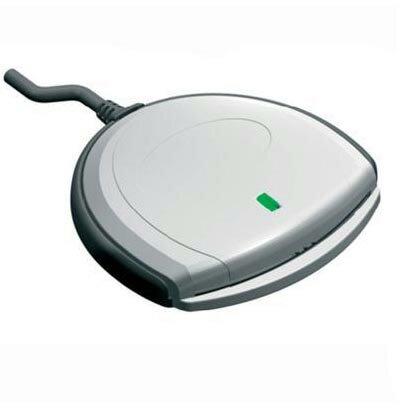 ◇ 【e-Taxや住基カードなどの公的個人認証に対応】 SCM Microsystems ICカードリーダーライター 接触型 USBタイプ バルク SCR3310/v2.0 ◆メ