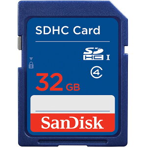 ◇【32GB】SanDisk/サンディスクSDHCカードCLASS4海外リテールSDSDB-032G-B35◆メ