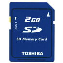 ◇ 【2GB】 東芝/TOSHIBA SDメモリーカード バルク SD-M02G-BLK ◆メ