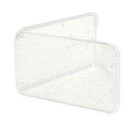 microSD+SDカードケース ノーブランド 収納に最適! 簡易包装バルク micro-SD-CASE-BLK ◆メ