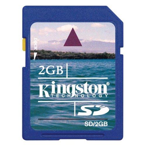 ◇ 【2GB】 Kingston キングストン SDメモリーカード ミニケース付 バルク SD/2GB-BLK ◆メ