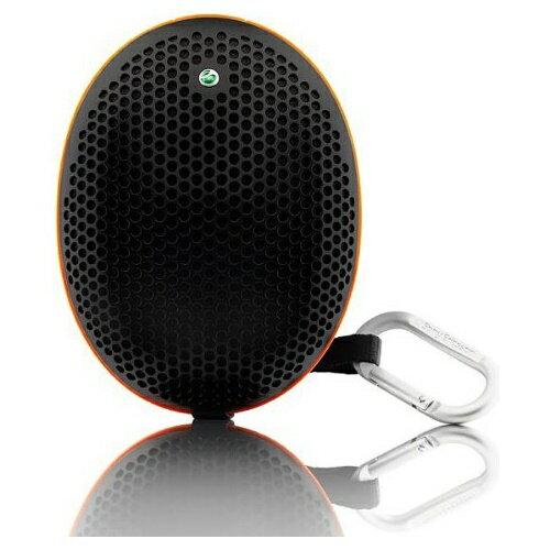 ワイヤレススピーカー Sony Ericsson Bluetooth2.1(約10m) 単3形乾電池 ストラップ&カラビナ付 バルク MS500-BLK ◆宅