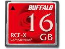 ◇ 【16GB】 BUFFALO/バッファロー コンパクトフラッシュカード RCF-Xシリーズ 低消費電力仕様 RCF-X16G ◆メ