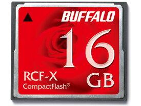 16GB コンパクトフラッシュ CFカードBUFFALO バッファロー RCF-Xシリーズ 低消費電力仕様 RCF-X16G ◆メ