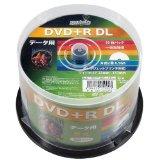 DVD+R DL メディア データ用 HI-DISC ハイディスク 50枚 2層 8倍速 ホワイトプリンタブル HDD+R85HP50 ◆宅