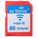 ◇ 【microSDHCカードを簡単Wi-Fi接続】 ezShare Wi-Fi microSDアダプター Class10 4GB-32GB対応 海外リテール ...