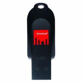 2GB USBメモリー Strontium Pollex USB2.0 ブラック/レッド 海外リテール SR2GRDPOLLEX ◆メ