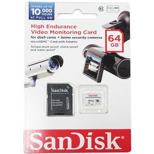 ◇在庫限り!決算処分特価【64GB】SanDiskサンディスクmicroSDXCカードClass10UHS-I対応ビデオ録画用10000h(FullHD)海外リテールSDSDQQ-064G-G46A◆メ