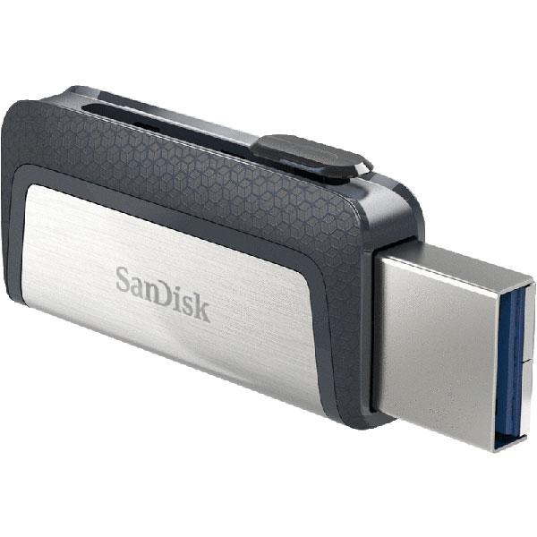 16GB SanDisk サンディスク USBメモリー USB3.1 Type-C & Type-Aデュアルコネクタ R:150MB/s 海外リテール SDDDC2-016G-G46 ◆メ