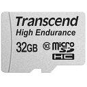 ◇ 【32GB】 Transcend トランセンド microSDHCカード Class10 高耐久 MLC採用 ドライブレコーダー向け SDアダプタ付 …