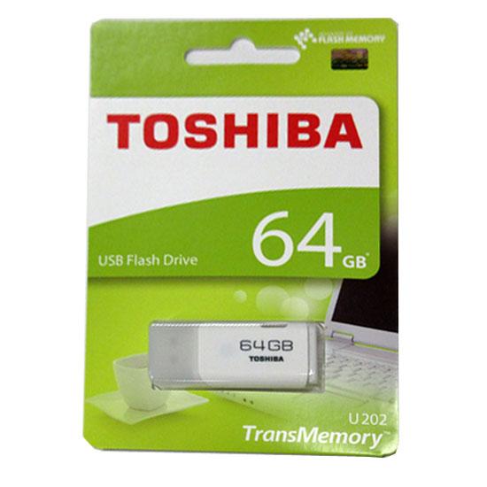 【エントリーでダイヤモンド会員10倍、プラチナ7倍、ゴールド5倍】 64GB USBメモリー TOSHIBA 東芝 TransMemory USB2.0 キャップ式 ホワイト 海外リテール THN-U202W0640A4 ◆メ