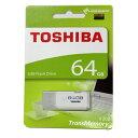 ◇ 【64GB】 TOSHIBA 東芝 USBメモリー TransMemory USB2.0対応 キャップ式 ホワイト 海外リテール THN-U202W0640...