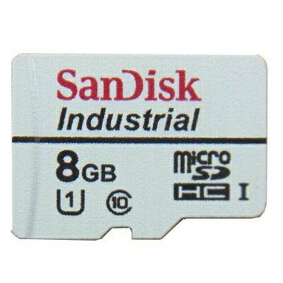8GB microSDHCカード マイクロSD SanDisk サンディスク 産業用 Industrial CLASS10 UHS-I MLCチップ 高信頼 高耐久 バルク SDSDQAF-008G-I ◆メ