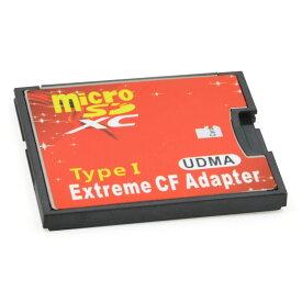 CFアダプター Extreme 手持ちのmicroSDカードをCFカードTypeIに変換 EXCFAD-MICRO1 ◆メ