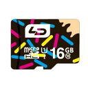 ◇ 【16GB】 LD microSDHCカード Class10 UHS-I対応 高速転送 R:最大70MB/s 日本語パッケージ LD-MSD16GC10U1...