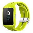 ◇ SONY ソニー スマートウォッチ3 Smart Watch 3 SWR50 Lime ライム シリコンブレス 並行輸入品 1287-4373 ◆宅