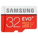 ◇ 【32GB】 Samsung サムスン microSDHCカード EVO Plus Class10 UHS-I R:最大80MB/s 海外リテール MB-MC32G/CN ◆メ