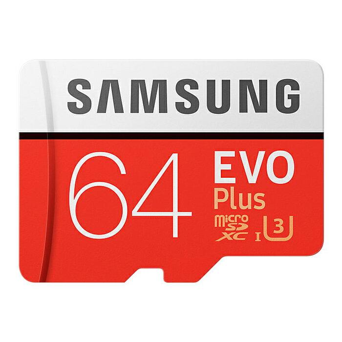 ◇ 【64GB】 Samsung サムスン microSDXCカード EVO Plus Class10 UHS-I R:最大80MB/s 海外リテール MB-MC64G/CN ◆メ