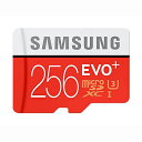 ◇ 【256GB】 Samsung サムスン microSDXCカード EVO Plus Class10 UHS-1 U3 R:95MB/s W:90MB/s ...