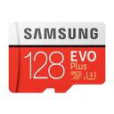 ◇ 【128GB】 Samsung サムスン microSDXCカード EVO Plus Class10 UHS-I U3 R:100MB/s W:90MB/s...