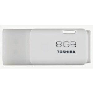 ◇ 8GB USBメモリー TOSHIBA 東芝 TransMemory USB2.0 キャップ式 ホワイト 海外リテール THN-U202W0080A4 ◆メ