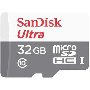 ◇【32GB】SanDiskサンディスクUltramicroSDHCカードClass10UHS-I対応R:80MB/s海外リテールSDSQUNS-032G-GN3MN◆メ