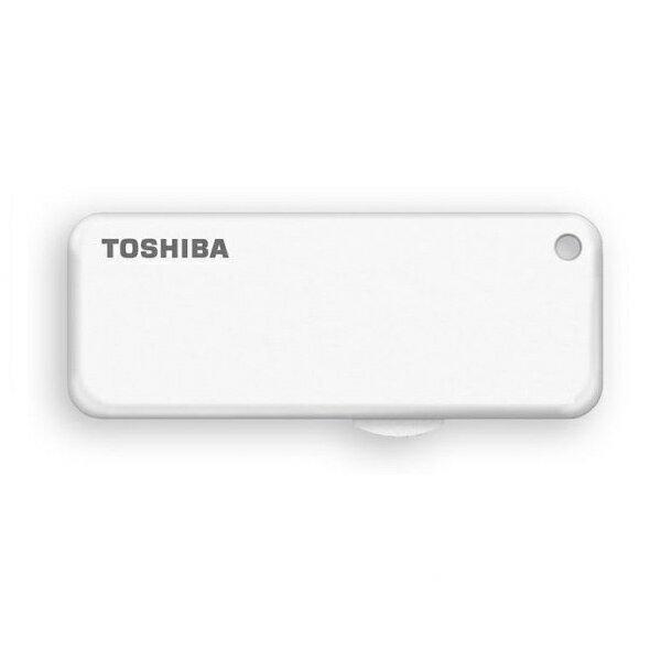 16GB USBメモリー TOSHIBA 東芝 TransMemory U203 USB2.0 スライド式 ホワイト 海外リテール THN-U203W0160E4 ◆メ
