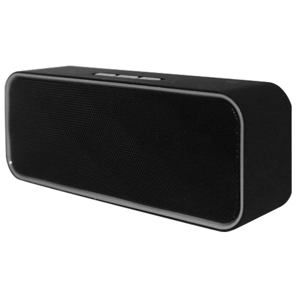ワイヤレススピーカー 平野商会 出力3W Bluetooth MP3再生用microSDスロット AUX入力 FMラジオ ハンズフリー通話 ブラック HRN-335 ◆宅