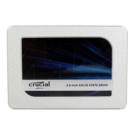 1TB SSD 内蔵型 Crucial クルーシャル MX500 3D TLC 2.5インチ 7mm厚 SATA3 6Gb/s R:540MB/s W:500MB/s 1.0TB 海外リテール CT1000MX500SSD1 ◆メ