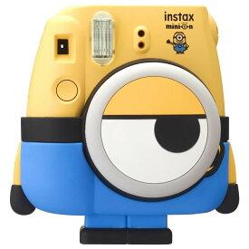数量限定 インスタントカメラ チェキ ミニオン instax mini 8 FUJIFILM フジフィルム INS MINI 8 MINION ◆宅