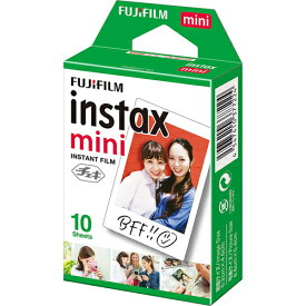 FUJIFILM フジフィルム インスタントカメラ チェキ instax mini用フィルム 10枚 INSTAXMINIJP1 ◆メ